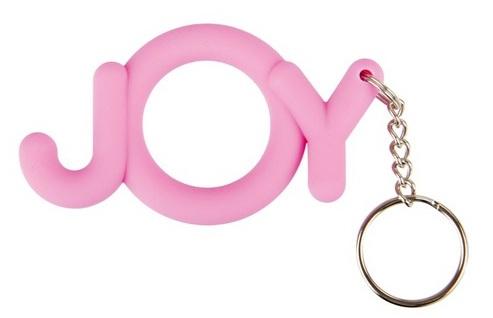Розовое кольцо-брелок Joy Cocking