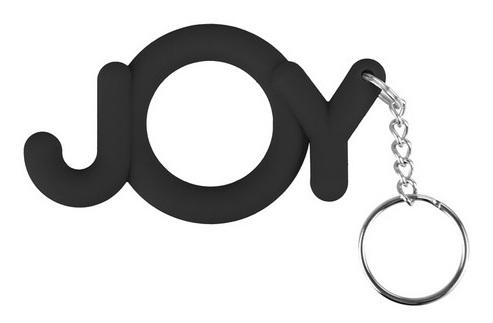 Черное эрекционное кольцо Joy Cocking