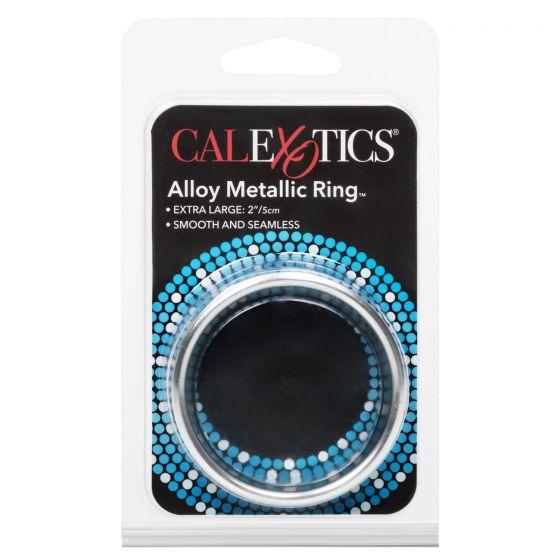 Широкое металлическое кольцо Alloy Metallic Ring Extra Large