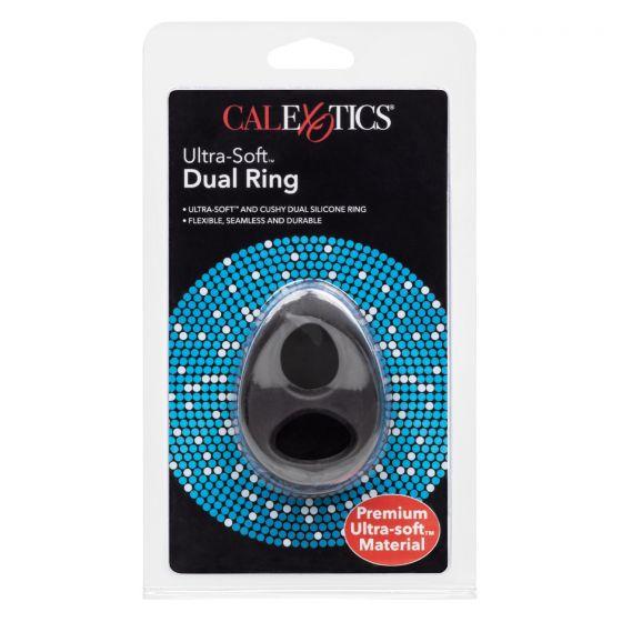 Двойное эрекционное кольцо Ultra-Soft Dual Ring