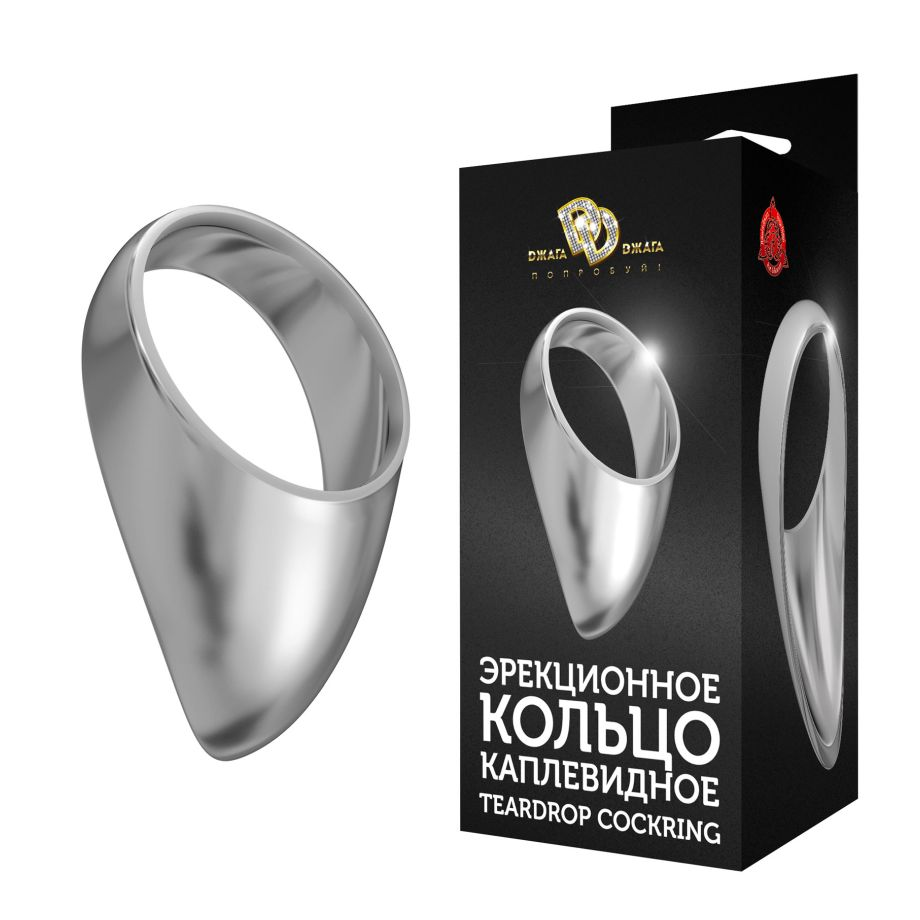 Среднее каплевидное эрекционное кольцо TEARDROP COCKRING