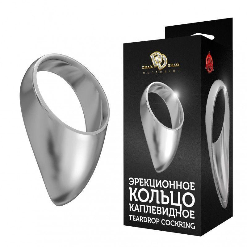 Малое каплевидное эрекционное кольцо TEARDROP COCKRING