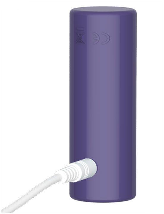 Фиолетовое эрекционное виброкольцо Magic Ring