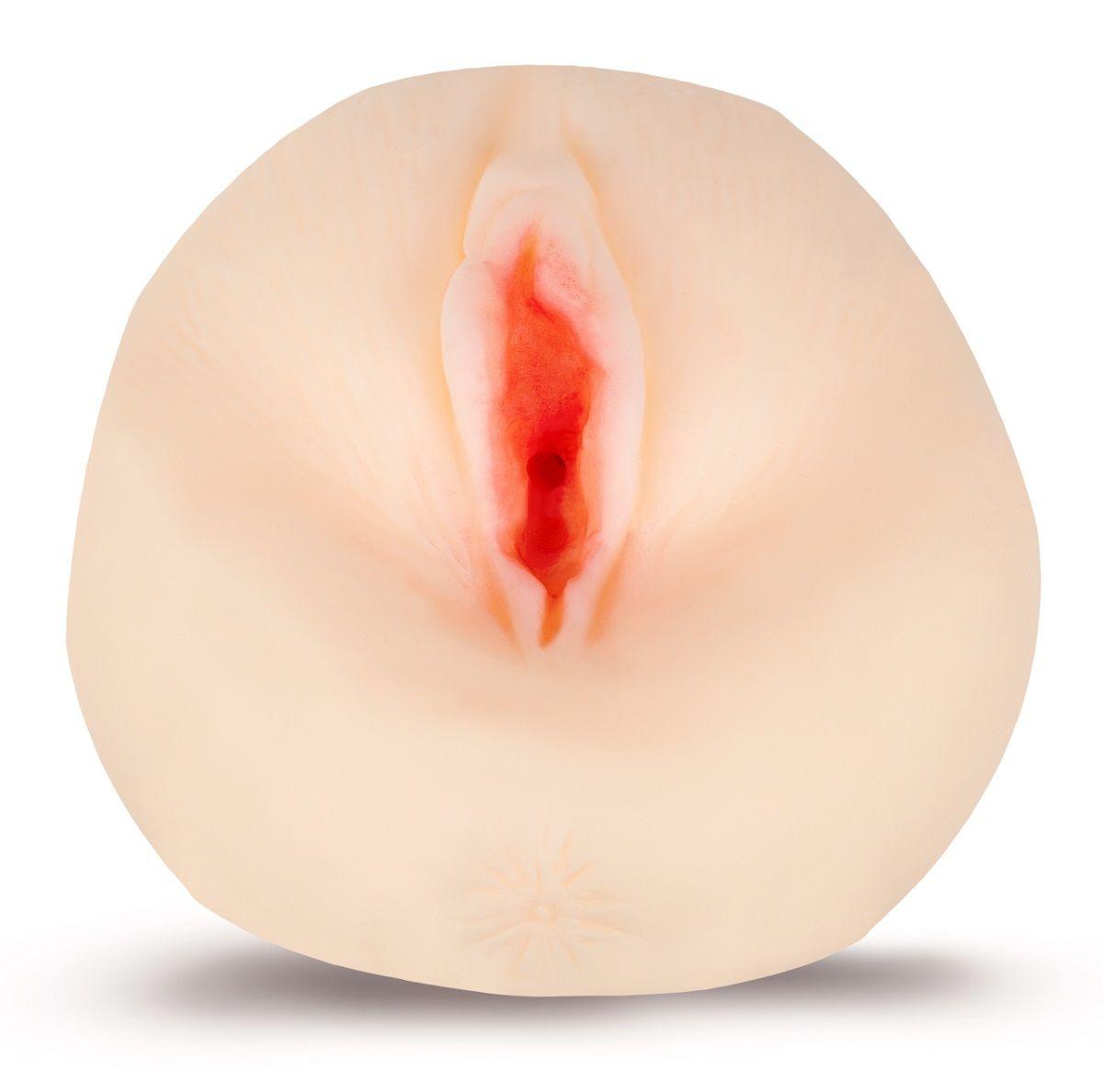 Мастурбатор-вагина с углублениями под пальцы