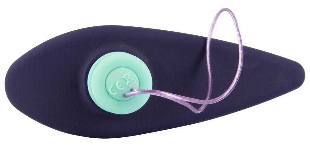 Темно-фиолетовый вибростимулятор простаты с пультом ДУ Remote Controlled Prostate Plug