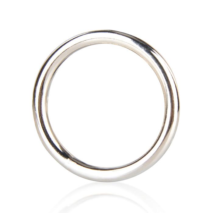 Стальное эрекционное кольцо STEEL COCK RING - 3.5 см.