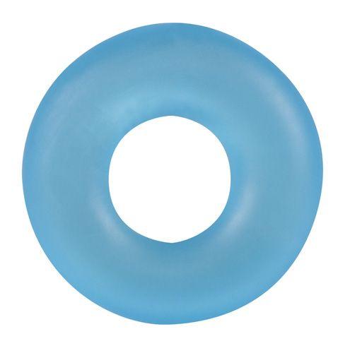 Голубое эрекционное кольцо Stretchy Cockring