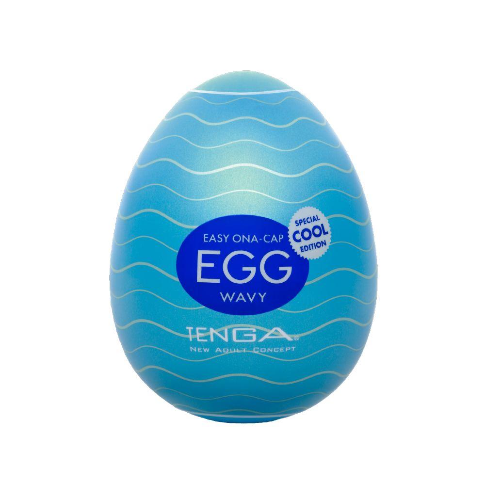 Мастурбатор-яйцо с охлаждающей смазкой COOL EGG
