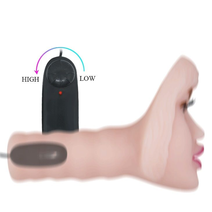 Мастурбатор-ротик с вибрацией Passion Lady