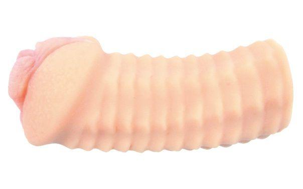 Супер реалистичный мастурбатор-вагина с двойным слоем материала