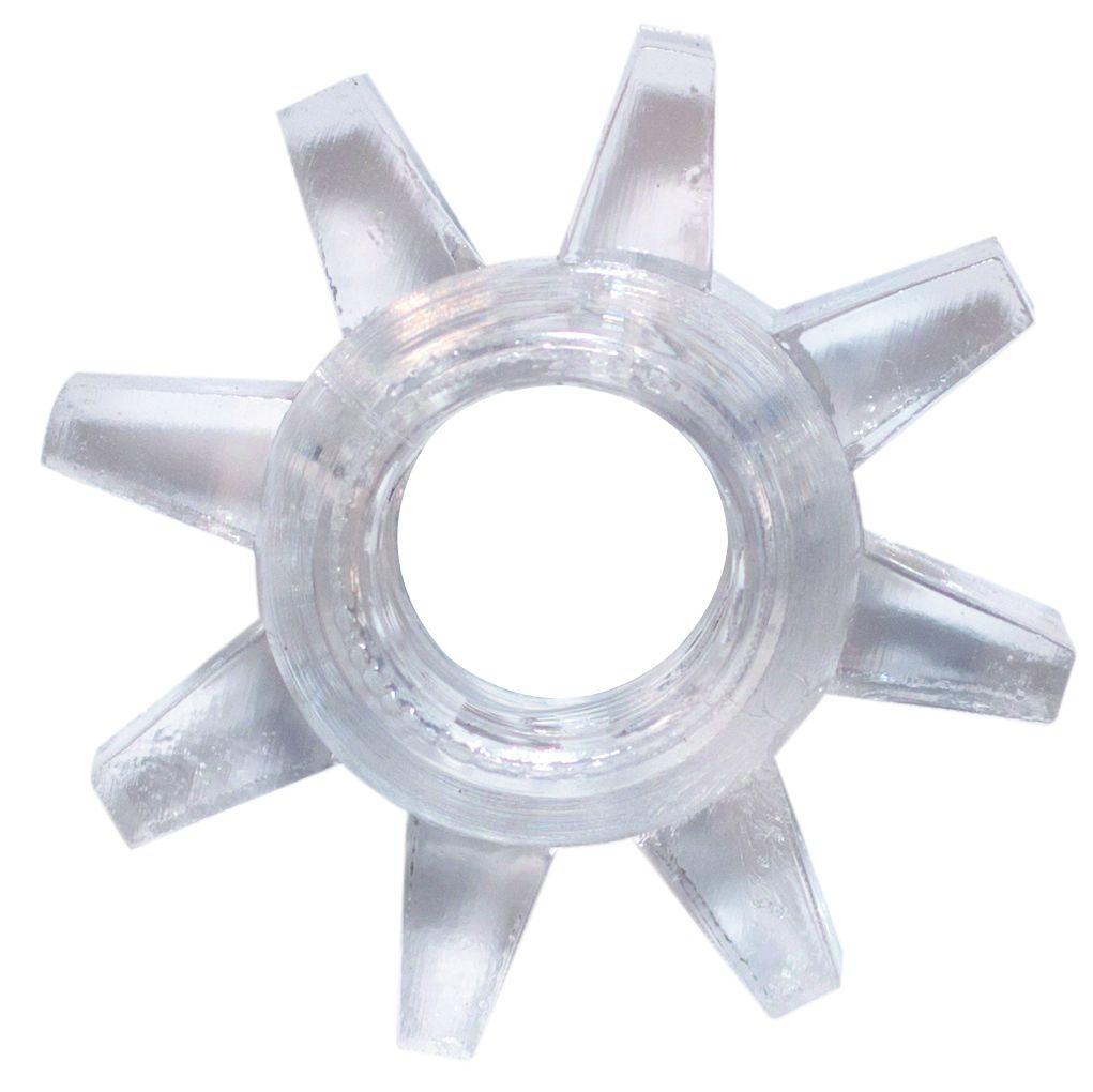 Прозрачное эрекционное кольцо Rings Cogweel