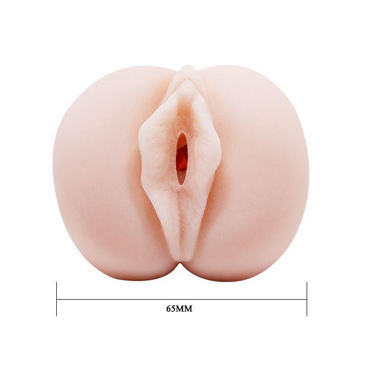 Компактный мастурбатор-вагина с эффектом смазки