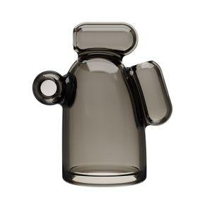 Дымчатая насадка-мастурбатор с вибрацией Vibrating Crystal Cap I