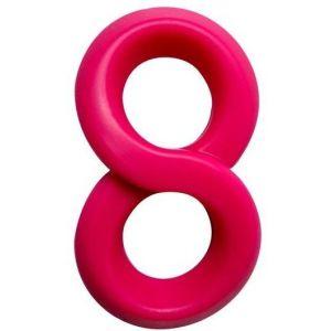 Розовое эрекционное кольцо на пенис RINGS LIQUID SILICONE