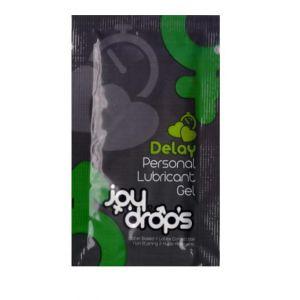 Пробник пролонгирующей смазки JoyDrops Delay - 5 мл.