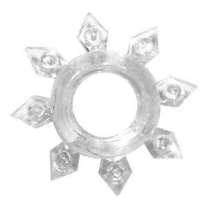 Прозрачное эрекционное кольцо Rings Gear