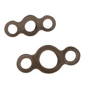 Набор из 2 эрекционных колец MENZSTUFF STRETCHABLE COCK RING SET