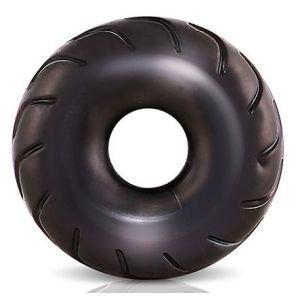 Черное эрекционное кольцо Truck Tire